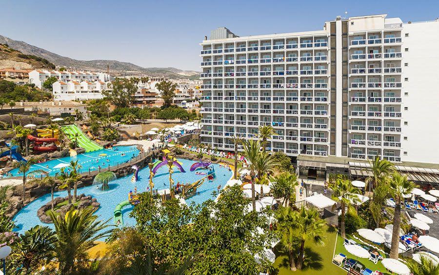 Hotel Globales los patos Park toboganes panorámica