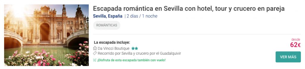 ESCAPADA ROMANTICA ANDALUCIA