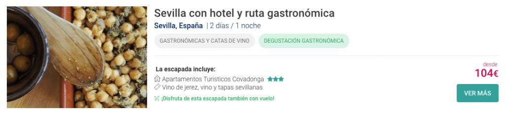 Escapadas y rutas gastronómicas por Andalucía